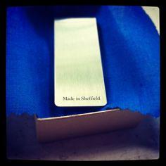 Money clip back #mamnick #sheffield #steel #clip