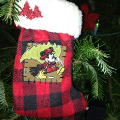 Mickey Country Stocking Ornament