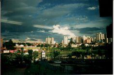 Landscape in Goiania, Goias, Brazil