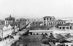 Από το λιμάνι μέχρι τον Λευκό Πύργο - 1920 Thessaloniki, Macedonia, Athens, Old Photos, Paris Skyline, Greece, Scenery, The Past, City