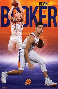 Devin Booker Phoenix Suns x Player Poster Basketball Funny, Basketball Pictures, Basketball Stuff, Jersy Boys, Devin Booker, Nba Wallpapers, Nba Sports, Phoenix Suns, Nba Players