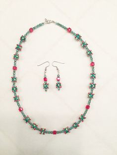 A personal favorite from my Etsy shop https://www.etsy.com/listing/257102588/christmas-necklace-earring-set-christmas