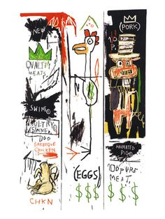 Jean-Michel Basquiat, Wall Art and Home Décor at Art.co.uk✖️ Art. Ideas. Home. Fashion ✖️FOSTERGINGER AT PINTEREST ✖️
