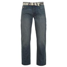 Fabric Mens Belt Jeans 5 Pocket Design Straight Leg Cut with a Button Fly and a Belt - Size 34W R - Mid Wash Fabric http://www.amazon.co.uk/dp/B01B53C2C4/ref=cm_sw_r_pi_dp_LyLWwb0T335ZK