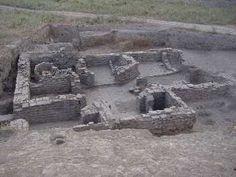 Medieval bath house in Kazakhstan