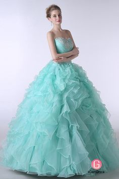 Only $227.99, Special Occasion Dresses Ball-Gown Sweetheart Sweep Train Tulle Prom Dress With Cascading Ruffles Beading #CH0038 at #GemGrace. View more special Special Occasion Dresses,Quinceanera Dresses now? GemGrace is a solution for those who want to buy delicate gowns with affordable prices, a solution for those who have unique ideas about their gowns. Find out more>>