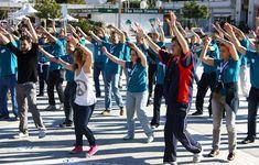 Flash Mob - Creativando - Actividad de Team Building de Exteriores.  #TeamBuilding #Actividad #FlashMob #Eventos #Creativando Flash, Team Building, Teamwork, Leadership, Activities, Events