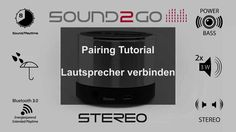 SOUND2GO STEREO SPEAKER mini speaker, bluetooth speaker, bluetooth lautsprecher