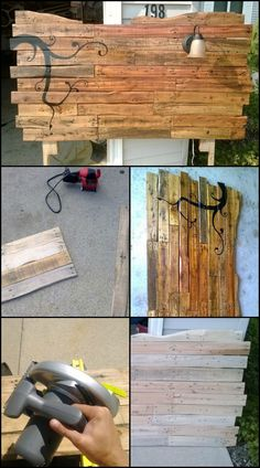 Build a unique, rustic headboard with pallets!  http://theownerbuildernetwork.co/1x2d  This headboard was made by an amateur DIYer, who is just beginning to learn wood work. Another inspiring example showing that you don't have to be a professional to create something impressive for the home!