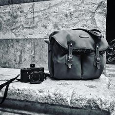 The Billingham Hadley Large - Photo by François Struzik ( and ) on IG). Thanks for sharing the photo François! Orange Leather, Tan Leather, Leica M, Stavanger, Look Vintage, Blue Canvas, Brass Buckle, Day Bag, Hadley
