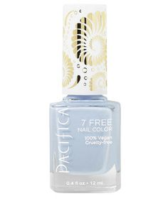 The warmer weather means clear blue skies ahead, which is what this pastel hue will remind you of every time you look at your hands. Plus, the seven-free formula is super gentle on nails.