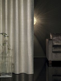 The sumptuous textiles from Carlucci di Chivasso amaze due to the surety of style with which they set new trends. Gray Interior, Interior Styling, Interior Decorating, Tassel Curtains, Window Curtains, Beautiful Interior Design, World Of Interiors, Interior Accessories, Couture