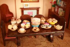 Picture of Miniature food made from salt dough