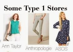 expressing your truth closet: Stores for Type 1
