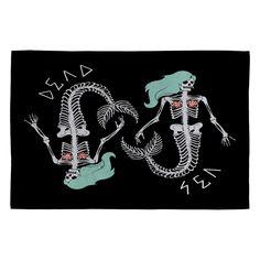 Wesley Bird Dead Sea Woven Rug | DENY Designs Home Accessories