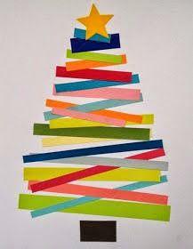 Xmas tree crafts for kids! Christmas Tree Crafts, Christmas Activities, Christmas Projects, Winter Christmas, Holiday Crafts, Holiday Fun, Simple Christmas, Christmas Card Ideas With Kids, Holiday Decorations