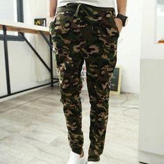 New men's military camouflage combat camo pants joggers sport sweatpants trouser Army Pants, Men Pants, Fashion Brand, New Fashion, Casual Pants, Men Casual, Fashion Pants, Fashion Outfits, Camo Outfits
