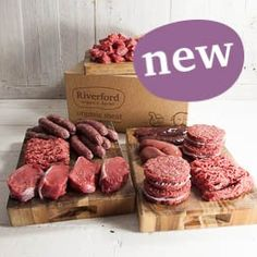 Order online box of organic venison : Riverford Organic Vegetables