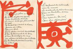 Pablo Picasso et Pierre Reverdy, Le Chant des Morts.