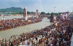 Devotees Take First Holy Dip Of Ardh Kumbh In Haridwar - http://thehawkindia.com/news/devotees-take-first-holy-dip-of-ardh-kumbh-in-haridwar/