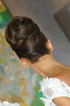 Perfect bridal hair