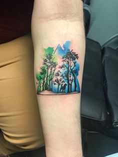 Watercolour forest tattoo Watercolour, Watercolor Tattoo, Forest Tattoos, Tattoo Artists, Body Art, Instagram, Pen And Wash, Watercolor Painting, Watercolor
