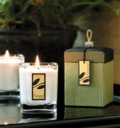 Gorgeous candle & packaging!
