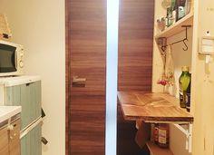 ワンタッチ折りたたみ棚受け「タッチポン」で調理台をDIY!   DIY FACTORY COLUMN
