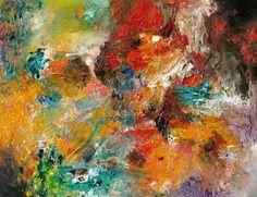"""Saatchi Art Artist: Stricher Gerard; Oil 2012 Painting """"""""Le Temps des mages"""""""""""