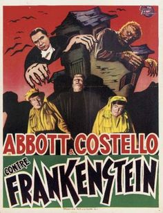 Bud Abbott Lou Costello Meet Frankenstein #MovieTavern