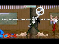 Spider-Man And Homer Simpson VS Lady Deathstrike & Jeff The Killer In A MUGEN Match / Battle / Fight - YouTube