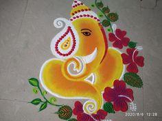 Easy Diwali Rangoli, Diwali Diy, Rangoli Designs Diwali, Simple Rangoli, Happy Diwali, Small Rangoli Design, Colorful Rangoli Designs, Beautiful Rangoli Designs, Sanskar Bharti Rangoli Designs