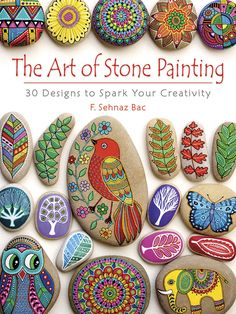 I like the multi-colour wing of the bird. The Art of Stone Painting: 30 Designs to Spark Your Creativity