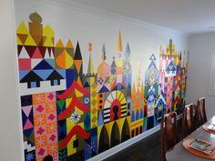 DIY Home Mural - 25 Beautiful Home Murals