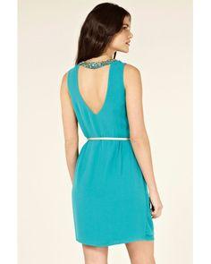 Oasis | Blue Paloma Embellished Dress | Lyst