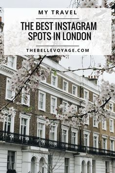 Best London Instagram Spots: My Top 10 | The Belle Voyage | London photography. Things to do in London. London style. London attractions. Instagram ideas, Instagram photos.