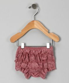 Take a look at this rose lace bloomers infant amp toddler by zuzu s