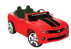 Chevy Camaro 12V Ride-Ons (Other colors available) - Free Shipping on Orders Over $99 at Genuine Hotrod Hardware