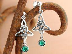 FREE earring idea - Celtic Knot Earrings