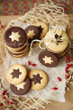 Obiad gotowy!: Maślane ciastka z gwiazdką Bird Cookies, Biscuit Cookies, No Bake Cookies, Sugar Cookies, Gingerbread Cookies, Christmas Cookies, Cookie Recipes, Snack Recipes, Dessert Recipes