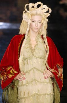 Jean Paul Gaultier at Couture Fall 2005
