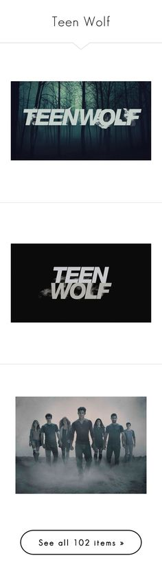"""Teen Wolf"" by speed-demon ❤ liked on Polyvore featuring teen wolf, backgrounds, extra, other, pictures, photos, people, imagens, fandom related and home"