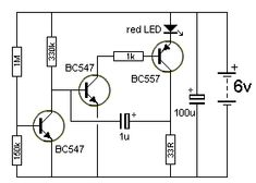 Low voltage U V Flasher 101 - 200 Transistor Circuits Electrical Work, Electrical Projects, Electronic Circuit Projects, Electronic Engineering, Electronics Gadgets, Electronics Projects, Arduino Pdf, Home Theater Amplifier, Battery Charger Circuit