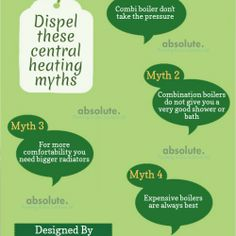 Dispel These Central Heating Myths Central Heating, Plumbing, Bathroom Fixtures