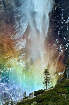 Yosemite is home to countless waterfalls. The best time to see waterfalls is during spring,