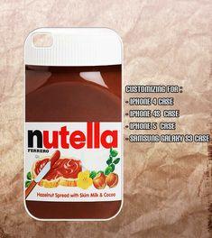 Nutella Iphone 4 case , iphone 4s case