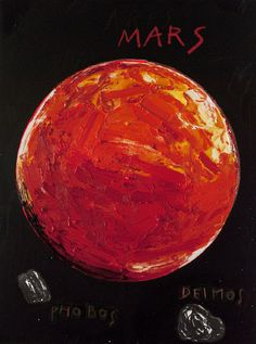 Energetic Oil Paintings of Our Solar System's Planets