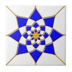Azulejo marroquino da estrela