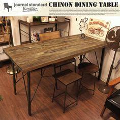 【楽天市場】CHINON DINING TABLE journal standard Furniture 送料無料:家具・インテリア・雑貨 ビカーサ