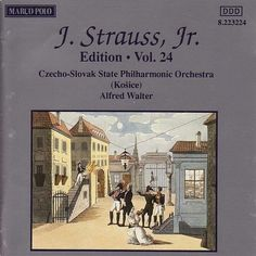 STRAUSS II, J.: Edition - Vol. 24 - Slovak State Philharmonic Orchestra, Kosice - Marco Polo